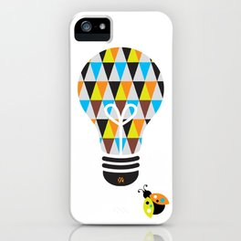The Song Writer: Bright Idea Art Series  iPhone Case