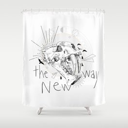 The New Way Shower Curtain