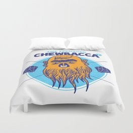 Hipster Chewie Duvet Cover