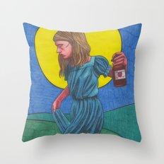 Honky Tonk Angel Throw Pillow