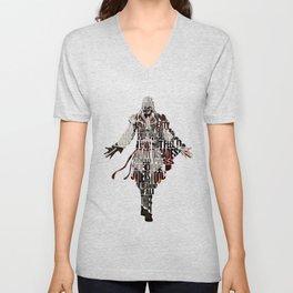 Ezio Auditore da Firenze from Assassin's Creed 2  Unisex V-Neck