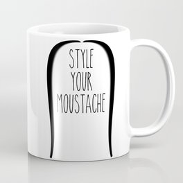Style your moustace - 1 Coffee Mug