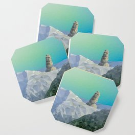 This is Not Easter Island Coaster