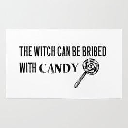 Bribe the Witch Rug