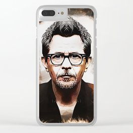 Gary Oldman - Caricature Clear iPhone Case
