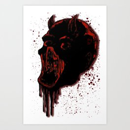 Dare to be The Devil Art Print