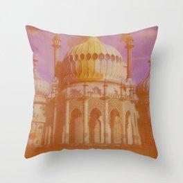 Brighton Royal Pavilion Throw Pillow