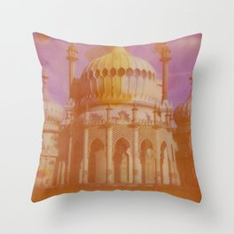 Brighton Royal Pavilion Throw Pillow