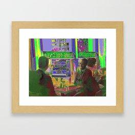CAFE' Framed Art Print