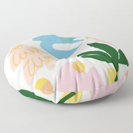 Abstraction_Nature_Beautiful_Day Floor Pillow