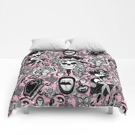 Pink Halloween Comforters