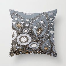 :: Summer Rain :: Throw Pillow