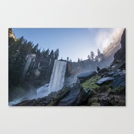 Vernal Falls, Yosemite National Park Canvas Print