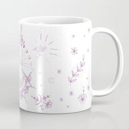 Mandala of moon cycles and tree Coffee Mug