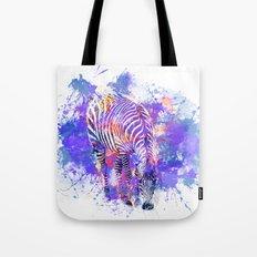 Crazy Zebra Tote Bag