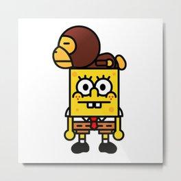 spongebob bambino Metal Print