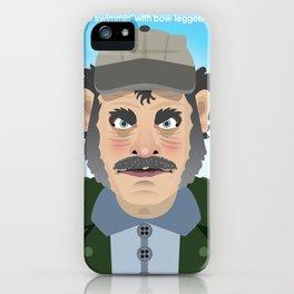Jaws Quint iPhone Case