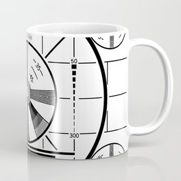Indian-Head Test Pattern Coffee Mug