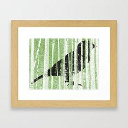 Forrest for the Bird Framed Art Print
