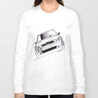 gta v Long Sleeve T-shirts featuring Alfa Romeo 155 GTA by Michele Leonello