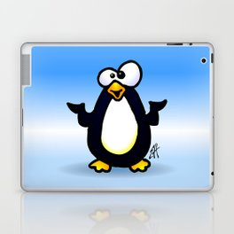 Pondering Penguin Laptop & iPad Skin