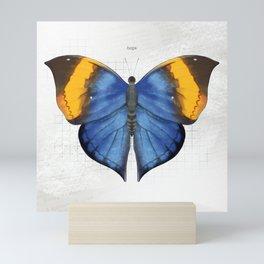 hope: dead leaf butterfly Mini Art Print