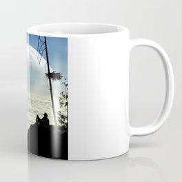 Solitude Above The Clouds Coffee Mug