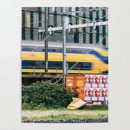 Commuter Train Poster