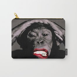 Sexy Chimpanzee  |  Provocative Primates Series Carry-All Pouch