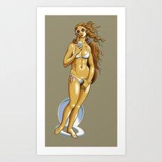 The Birth of Vainness Art Print