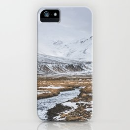 Heading to the Mountains - Landscape and Nature Photography iPhone Case