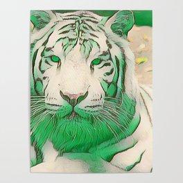 Green Tiger Poster