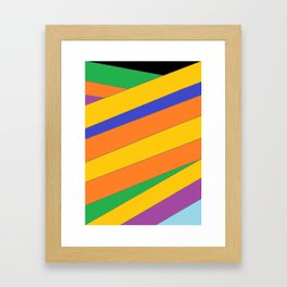 Roots - Colour Wrap Framed Art Print