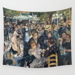 Pierre-August Renoir's Bal du moulin de la Galette Wall Tapestry