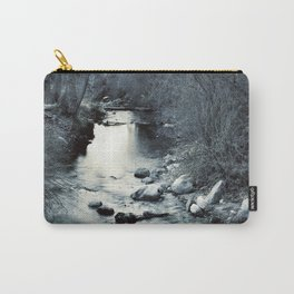Silver river. Retro Carry-All Pouch