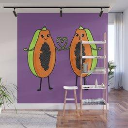 Love between women Wall Mural