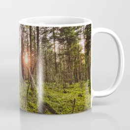 In the woods sun shine Coffee Mug