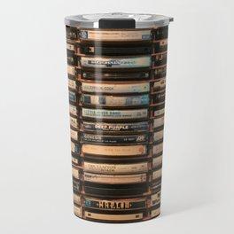 Vintage Cassettes (Color) Travel Mug