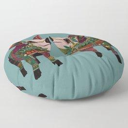pig love jade Floor Pillow