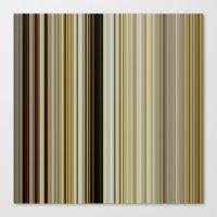 stripe Canvas Prints featuring Stripe by Fine2art
