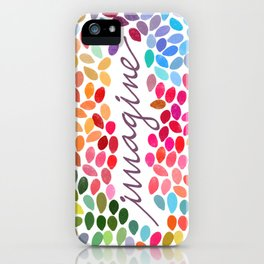 Imagine [Collaboration with Garima Dhawan] iPhone Case