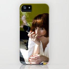 Mia, Pulp Fiction iPhone Case