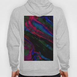 Dark Neon Marble Design Hoody