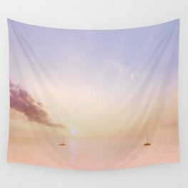 Sailing On The Seas Wall Tapestry