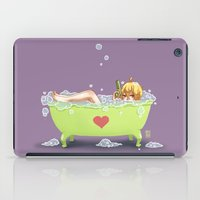 tina crespo iPad Cases featuring Tina de Amor by Coffeshere