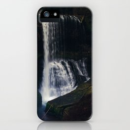 Middle North Falls iPhone Case