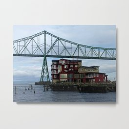 Cannery Pier Metal Print