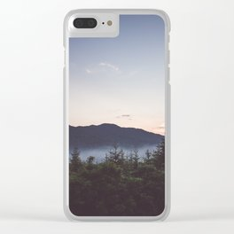 Night is coming Clear iPhone Case