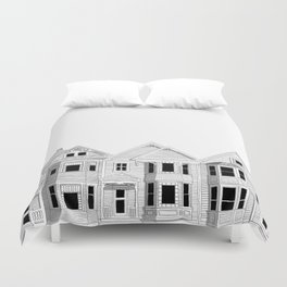 Vancouver Heritage Duvet Cover