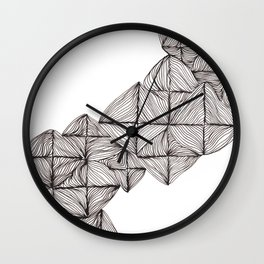 Lo-Fi White Wall Clock